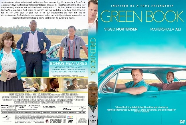 dvd cover Green Book DVD Cover