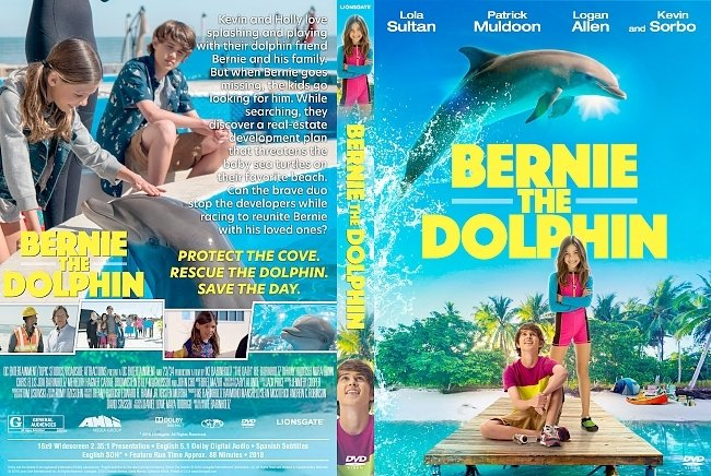 dvd cover Bernie The Dolphin DVD Cover