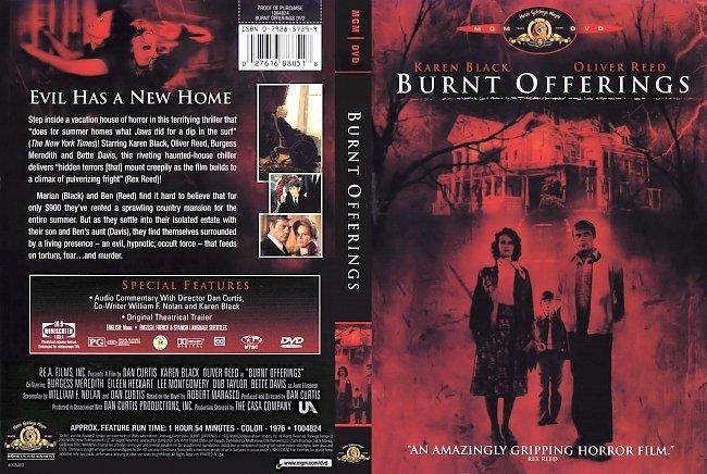 dvd cover Burnt Offerings DVD Cover