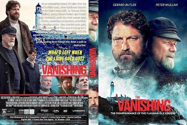 dvd cover The Vanishing DVD Cover