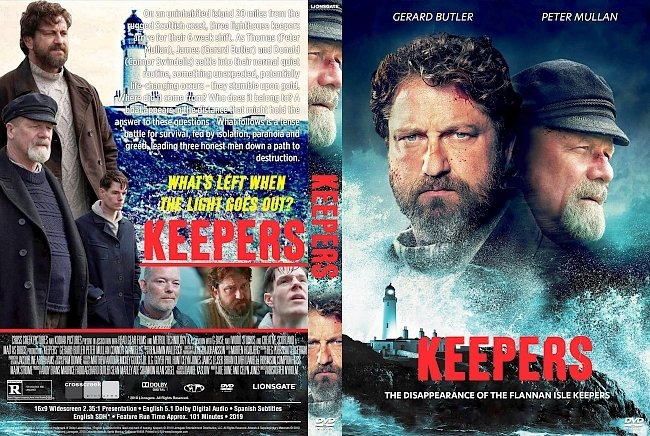 dvd cover Keepers DVD Cover