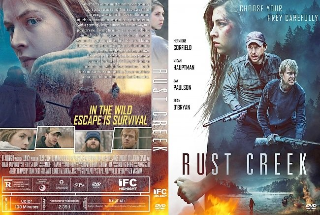 dvd cover Rust Creek DVD Cover