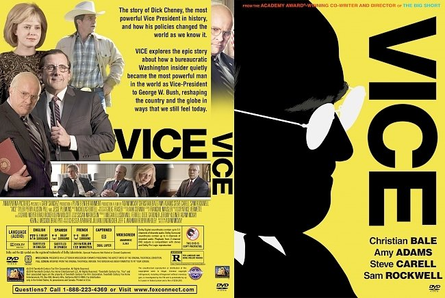 dvd cover Vice DVD Cover