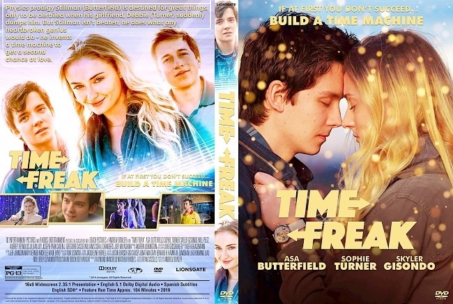 dvd cover Time Freak DVD Cover