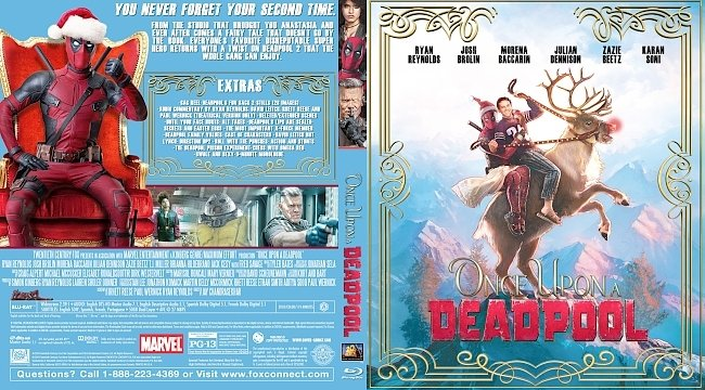 dvd cover Once Upon a Deadpool Bluray Cover