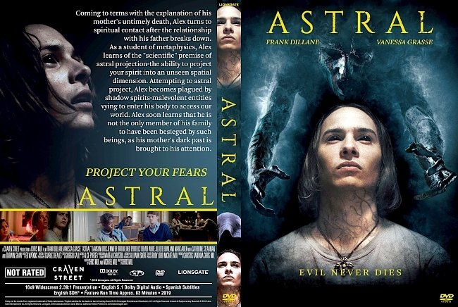 dvd cover Astral DVD Cover