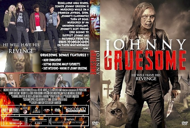 dvd cover Johnny Gruesome DVD Cover