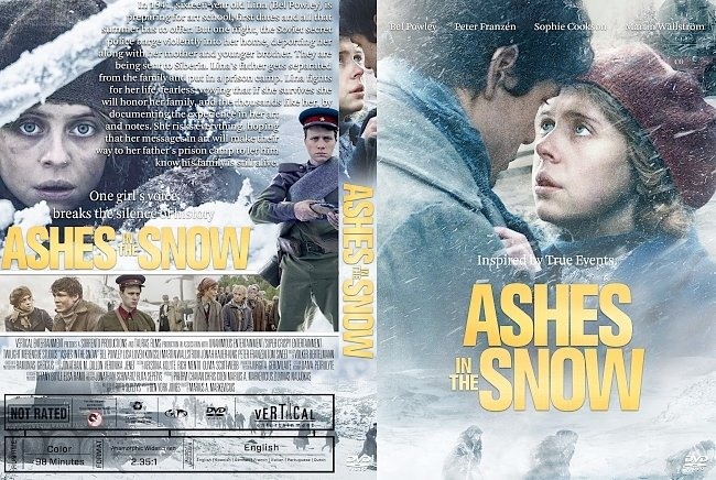 dvd cover Ashes in the Snow DVD Cover