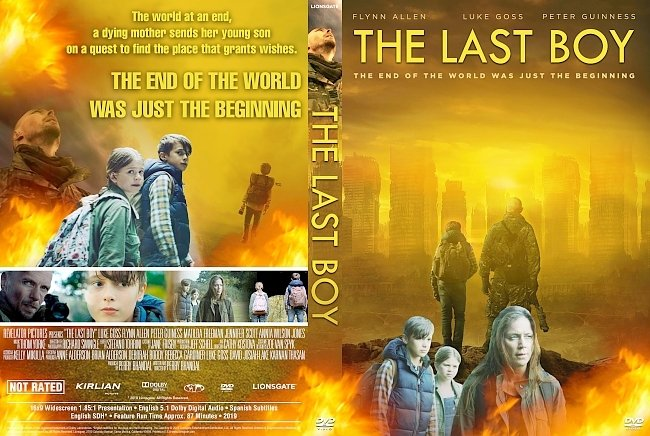 dvd cover The Last Boy DVD Cover