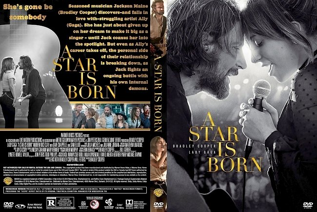 dvd cover A Star Is Born DVD Cover