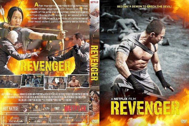 dvd cover Revenger DVD Cover