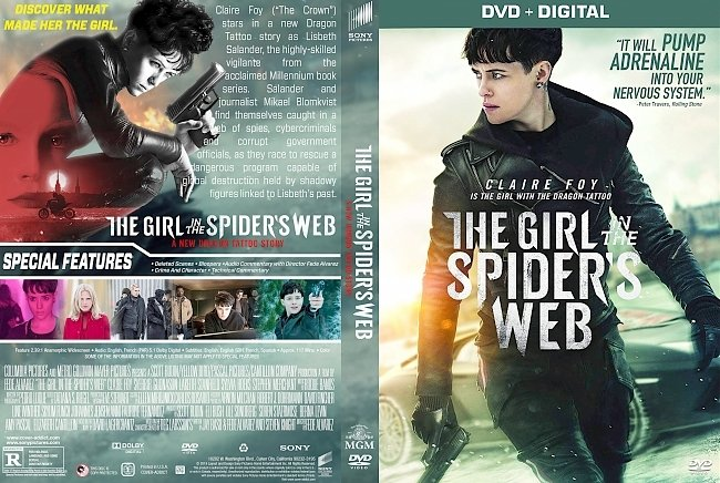 dvd cover The Girl in the Spider's Web DVD Cover