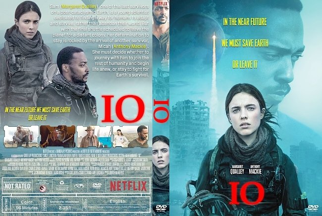 dvd cover IO DVD Cover