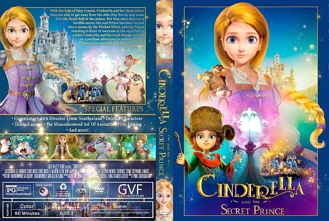 dvd cover Cinderella and the Secret Prince DVD Cover