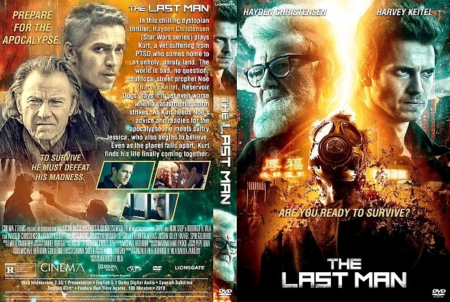dvd cover The Last Man DVD Cover