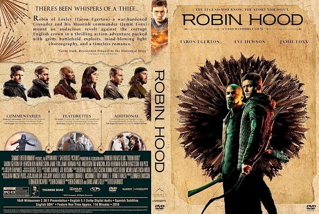dvd cover Robin Hood DVD Cover