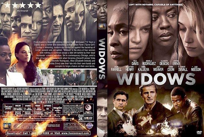 dvd cover Widows DVD Cover