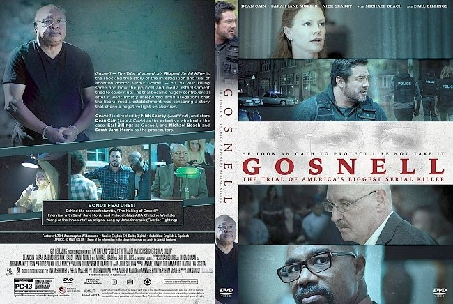 dvd cover Gosnell: The Trial of America's Biggest Serial Killer DVD Cover