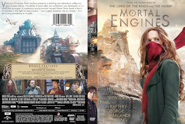 dvd cover Mortal Engines DVD Cover