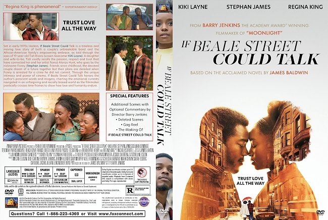dvd cover If Beale Street Could Talk DVD Cover