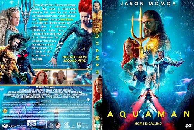 dvd cover Aquaman DVD Cover