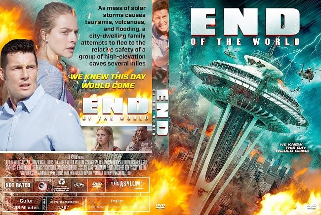 dvd cover End of the World DVD Cover