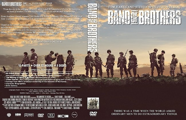 dvd cover Band of Brothers DVD Cover