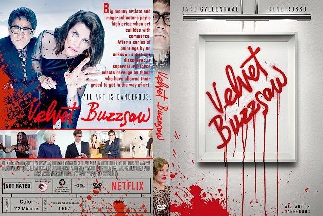 dvd cover Velvet Buzzsaw DVD Cover