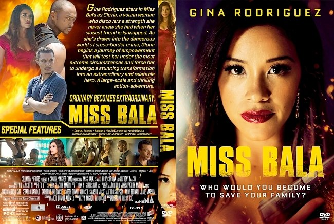 dvd cover Miss Bala (2019) DVD Cover