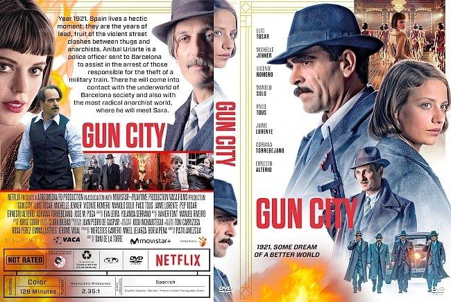 dvd cover Gun City (La Sombra De La Ley) DVD Cover