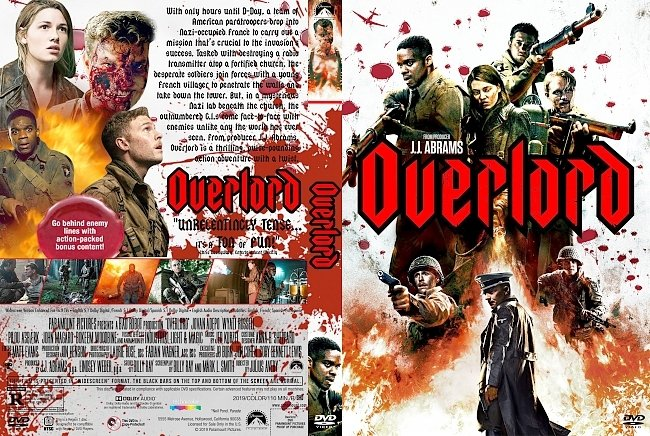 dvd cover Overlord DVD Cover