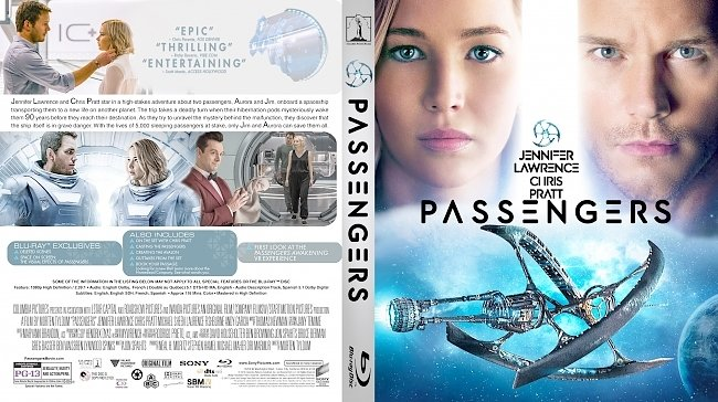 dvd cover Passengers Bluray Cover