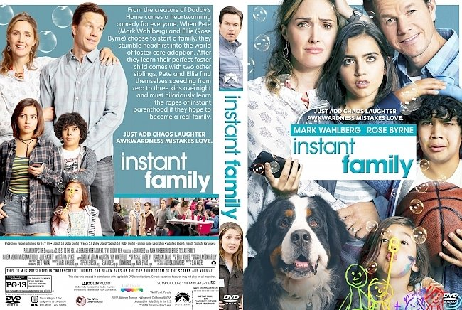 dvd cover Instant Family DVD Cover