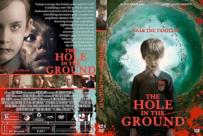 dvd cover The Hole in the Ground DVD Cover