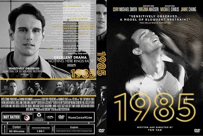 dvd cover 1985 DVD Cover