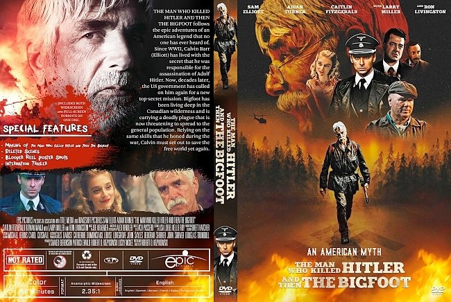 dvd cover The Man Who Killed Hitler and Then The Bigfoot DVD Cover