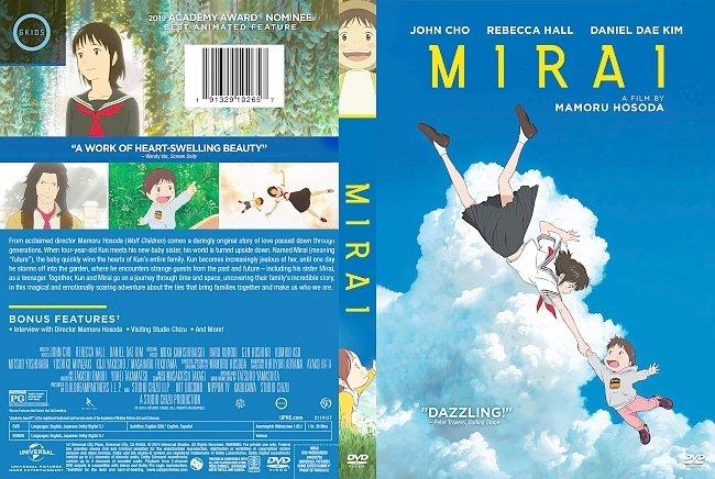 dvd cover Mirai DVD Cover