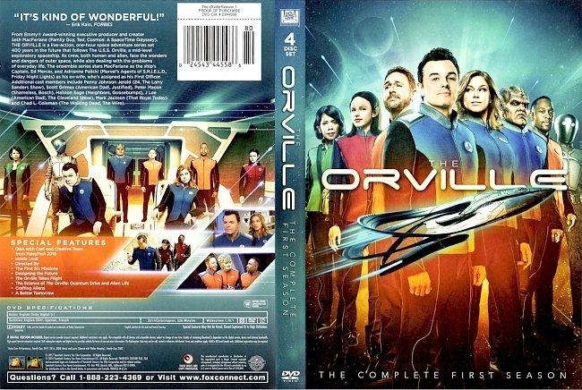 dvd cover The Orville Season 1 DVD Cover
