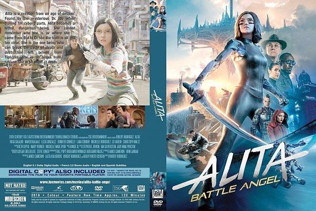dvd cover Alita Battle Angel DVD Cover