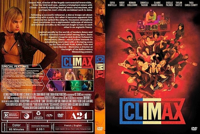 dvd cover Climax DVD Cover