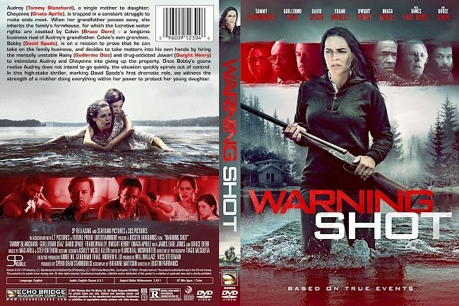 dvd cover Warning Shot DVD Cover
