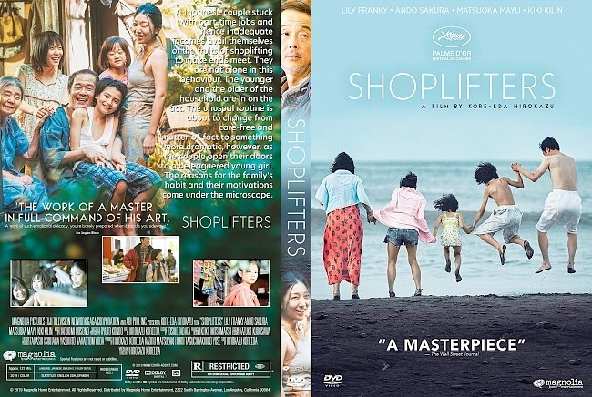 dvd cover Shoplifters DVD Cover