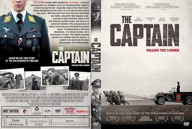 dvd cover The Captain DVD Cover