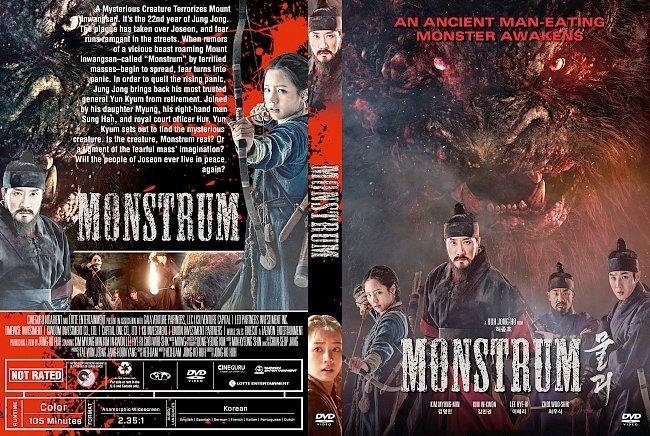 dvd cover Monstrum DVD Cover