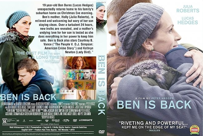 dvd cover Ben Is Back DVD Cover