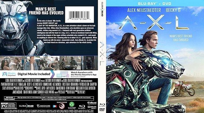 dvd cover A-X-L Bluray Cover