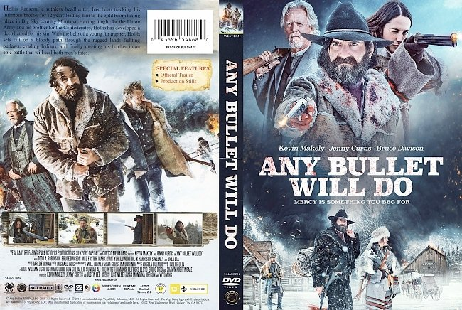 dvd cover Any Bullet Will Do DVD Cover