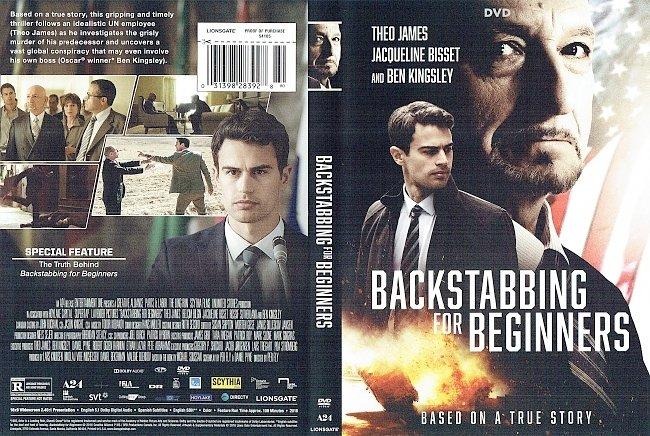 dvd cover Backstabbing for Beginners DVD Cover