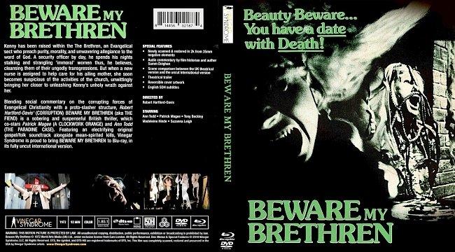 dvd cover Beware My Brethren Bluray Cover