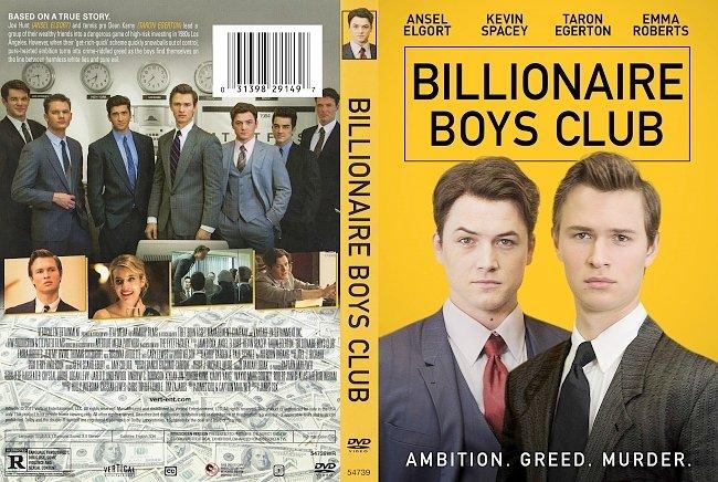 dvd cover Billionaire Boys Club DVD Cover